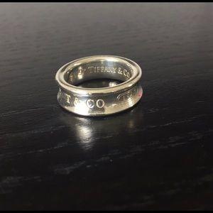 Tiffany & Co. 1837 ring - size (7)